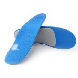 Плоскостопие стельки онлайн-Comfortable Orthotics flat foot Insole TPU Orthopedic Insoles for Shoes insert Arch Support pad for plantar fasciitis