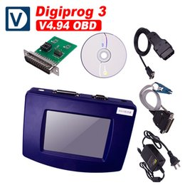 Wholesale Odometer Correction Tool Obd - Digiprog III Digiprog3 Mileage Correction Tool Digiprog3 Odometer Programmer V4.94 with OBD Cable And Factory Price DHL Free Shipping