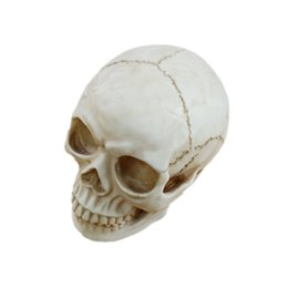 4fb60274311c7 bromas de gadget Rebajas Modelo Resina Skeleton Party Decoración de  Halloween Horror Broma Juguetes Shocker Lizun
