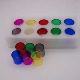 X8 vape online-Tubo Colorato in Vetro Pyrex per Vape Pen 22 Plus Stick Prince v8 x8 Kit di avviamento aio TFV12 Prince TFV8 Big Baby Tank