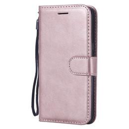2019 samsung j2 telefone Brieftasche Fall für Samsung Galaxy J2 Kern Flip Back Cover reine Farbe PU Leder Handy Taschen Coque Fundas rabatt samsung j2 telefone