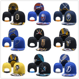 Wholesale blue yellow beanie - Wholesale New Hockey Teams Baseball Caps New GOLDEN KNIGHTS LA KINGS Adjustable Snapbacks Sport Hats FAlbum Available Mix Order Album