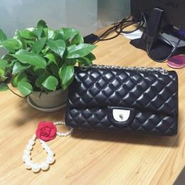 Carteras de piel de oveja online-AAA TOP NUEVOS bolsos de la vendimia bolsos de las mujeres bolsos del diseñador carteras para las mujeres de moda bolso de cadena de cuero de piel de oveja bolsas de hombro C55864