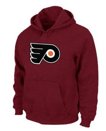 Wholesale Ice Hockey Outlet - Factory Outlet, Wholesale quality Ice Hockey hoodies sport mens authentic pullovers Philadelphia Flyers team-01 embroidery logo stitched M-X