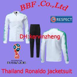 Wholesale soccer jersey portugal - Thailand soccer tracksuit player version RONALDO jacket NANI soccer jerseys DANILO PORTUGAL jersey PEPE Camisetas Maillot de futol