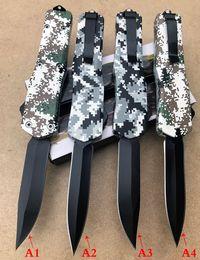 2019 камуфляжные ручные ножи Оптовая автоматический нож 4models камуфляж пластиковая ручка кемпинг складной нож твердое лезвие с высоким качеством бесплатная доставка дешево камуфляжные ручные ножи