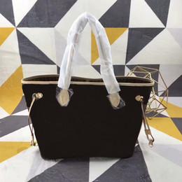 bolsas de cosméticos simples atacado atacado Desconto Mulheres da moda bolsa GM / MM Couro Bolsas de Ombro Totes bolsas Sacos de compras 40157 Carteiras Totes sacos têm saco de pó cx # 88