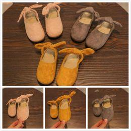 Wholesale Ballet For Sale - Hot Sale New 5 sizes a lot Spring Autumn Pretty Princess Elegant Comfortable Leather Dancing Single Soft Rubber Ballet Shoes for Girls