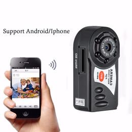 Wholesale Smallest Wireless Mini Camera - Suprer Mini Wifi HD 720P Wireless IP Camcorder Camera Smart The Smallest Video Camera