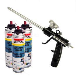Wholesale Foam Applicators - Newest 1PC Heavy Duty PU Foam Gun Expanding Spray Applicator New & Improved Adapter Basket Black