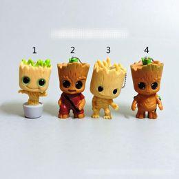Colgante del groot online-4 Guardianes del estilo de la galaxia 2 Groot Doll toys 2018 Nuevos niños avenger Lovely Cartoon Groot llavero colgante Toy MMA555 200pcs