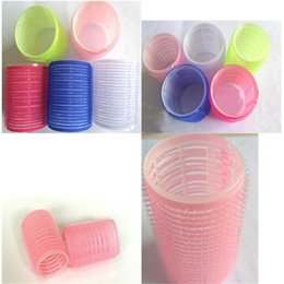 Wholesale Large Hair Curlers Rollers - Durable Large 6x Hair Salon Rollers Curlers Tools Hairdressing tool Soft Practic High Quality