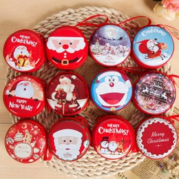 Wholesale Decoration Purses - 2017 hot Christmas coin purse decorations gift creative children toy gift tree old ball hanging pieces storage bag A-0488