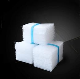 Wholesale Packaging Bubbles - 15x25cm 0.06mm 100pcs PE White Bubble Bag Shockproof Packaging Film Bubble Pad Air Cushion Film Small Bubble Bag