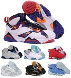 Wholesale Heat Cream - Sale Air 7 Basketball Shoes Men Women Orange Olympic Tinker Alternate Reloj 7s VII UNC Hares Bordeaux Cigar Cardinal Brand Sports Sneakers