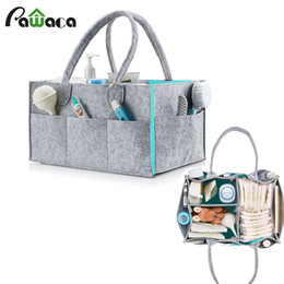 Wholesale Fabric Table Clothes - Foldable Baby Diaper Caddy Organiser Gift Kid Toys Portable Storage Bag box for Car Travel Changing Table Organizere Organizer