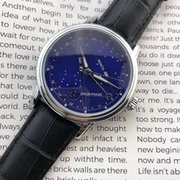 Top brand mens orologi di lusso movimento giapponese cinturino in pelle moonphase daydate maschio orologio da polso al quarzo per uomo resistente all'acqua relogios da