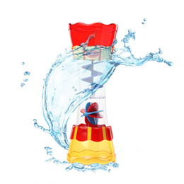 Wholesale Cups For Children - New Fashion Baby Bath Toys Boy Plastic Multi-color Bath Toy Swim Water Wand Cup Beach Toys for Children Kids Boys Gift Baby Toy