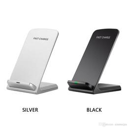 universal-handy-ladegerät Rabatt 10W Wireless QI Schnelles Ladegerät Lade Ständer Halter für Mobile Smartphone