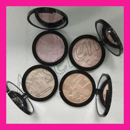 Wholesale combination set - Brand Illuminator Makeup Miner Foundation Powder Maquillaje 4color Face Bronzer Highlight Contour Setting Powder free shipping