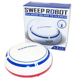 robot de limpieza automática Rebajas Nuevo USB automático Robot Inteligente Piso de vacío Casa recargable Mini limpiador de dibujos animados Barrido máquina de succión Pequeña casa Futural libre de DHL