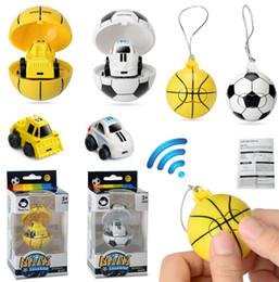 Argentina 2.4G Mini coches de control remoto de fútbol Baloncesto Radio Vehículos remotos Portátil de bolsillo control remoto coches 1:45 Suministro