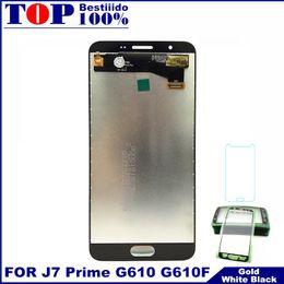 telefones jiayu Desconto Testado de alta qualidade lcd para galaxy j7 prime display g610f g610g g610l g610s lcd tela de toque do telefone digitador adesivo