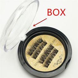 371daff026b China 7 style Best quality Gold Single Magnetic Lashes 3D Mink Reusable  Fasle Eyelash Without Glue