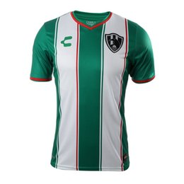 Wholesale green batch - Free shipping 2018 2019 Mexico Liga Mx Club de Cuervos 18 19 soccer jerseys Temporada Crows Football Shirts Size can be mixed batch