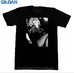 Große Shirts Beliebte Madonna Vintage Foto Männer Rundhalsausschnitt Kurzhülse Weihnachten Shirt von Fabrikanten