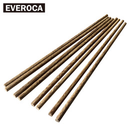 Wholesale Wholesale Suites - Japanese No-paint Wax-free Hotel Home Chopsticks Healthy Chicken Wings Wooden Chopsticks 10 Double Family Suite