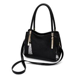 Borse a tracolla grandi borse a tracolla di marca femminile di moda in pelle morbida per donna da