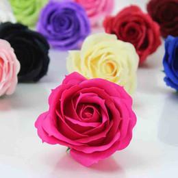 6 CM Sabun Gül Çiçek Kafa Yapay Çiçek Baş DIY sevgililer Günü Için Şükran Günü Doğum Günü Hediyesi Düğün Dekorasyon nereden küçük ayı aksesuarları tedarikçiler