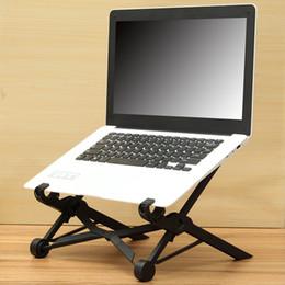 2019 einstellbarer laptophalter Großhandelshalter X Laptop-Stand-faltbarer justierbarer Notizbuch-Halter Eye-Level Ergonomic günstig einstellbarer laptophalter
