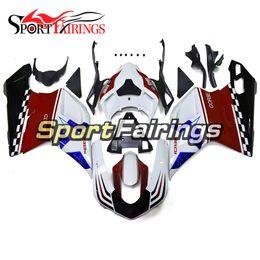 848 carenados online-Nuevo kit de carenado de plástico ABS para Ducati 1098 848 1198 2007 - 2012 2008 2009 2010 2011 2012 Sportbike Injection Blanco Rojo Negro Carrocería