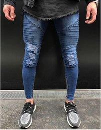 84dcd087e14 hot new men s jeans fashion hole skinny pants casual denim pants modern tight  jeans man trousers 28 30 32 34 36 38