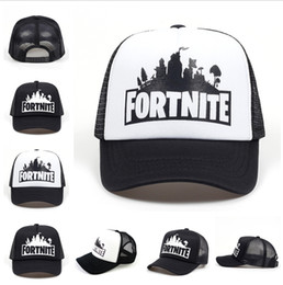 25d80d17727 Fortnite 3D Print Baseball Caps BIG KIDS Hip Pop Streetwear Game Fortnite  Fans Cool Mesh Caps Trucker Dad Hat for GIFT LC934-2