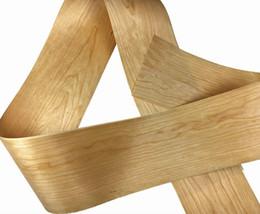 Wholesale wood bark - L:2.5Meters pcs Wide:200mm Thickness:0.2mm American natural cherry bark veneer Solid wood Speaker skinning veneer