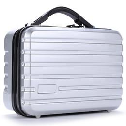 zoom pc Rebajas hot-2 PC + EVA Estuche rígido portátil para almacenamiento de cáscara rígida Caja protectora impermeable para DJI Mavic 2 Zoom Pro DJI Drone Accesorios