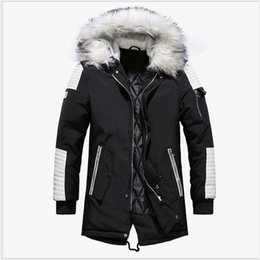 9a970ab93cd New Winter Jacket Men Thicken Warm Parkas Casual Long Outwear Hooded Collar  Jackets And Coats Men Veste Manteau Homme Hiver