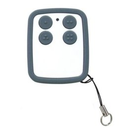Wholesale Fix Buttons - 2017 new Universal Multi frequency 280-868MHZ 4 Button Key Fob Remote Control rolling code fixed code Garage door opener