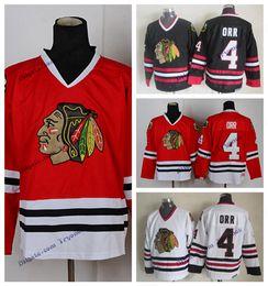 732ebd1cd chicago shirts 2019 - Vintage Chicago Blackhawks Bobby Orr Hockey Jersey  Home Red Mens Cheap Classic