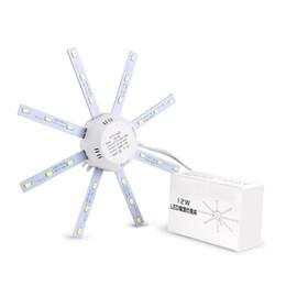 2019 deckenventilatoren modern zeitgenössisch Lemonbest 12/16/20 / 24W LED Deckenleuchten Leuchten Modifizierte Hauptbeleuchtung Quelle überzogene kühle weiße Deckenleuchte 5730SMD