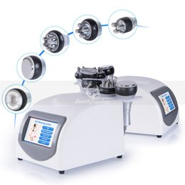 Wholesale body contouring - 5in1 40K Ultrasound Cavitation Slimming RF Radio Frequency Skin Lifting Vacuum Body Contouring Beauty Machine for Spa