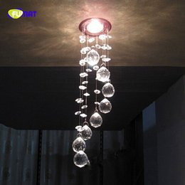 Wholesale small led ceiling light fixtures - Hot sales small bling-bling crystal chandelier modern flower design ceiling lights ceiliing fixture hallway light