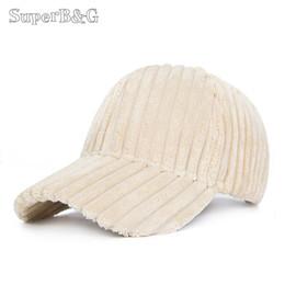 f5c5da8ccfc SuperB G New Winter Baseball Cap Women Thick Velvet Baseball Hat Female  Solid Color Autumn Warm Snapback Caps Unisex Bone