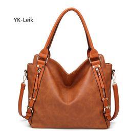 weinlese einkaufstaschen europäisch Rabatt YK-Leik europäische und amerikanische Frauen Handtasche mit großer Kapazität beiläufiger Taschentasche Handtaschenfrauen-Designer Schultertasche