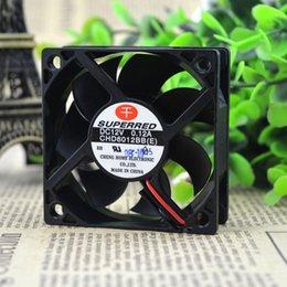 ventilateur 12v supposé Promotion Pour mille original rouge SUPERRED CHD6012BB 12V 0.12A 6CM 6020 ventilateur de refroidissement à 2 fils