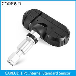 1 Adet CAREUD NF + Dahili Standart Sensör Pil Değiştirilebilir Sadece CAREUD TPMS Lastik Basıncı Monitör Sensörü Değiştirilebilir cheap internal sensor for tpms nereden tpms için dahili sensör tedarikçiler