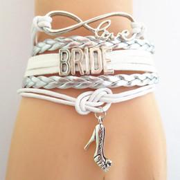 Wholesale Gifts For Bridesmaids - whole saleSANDEI bridal bracelet BRIDE wedding Bracelets for women BRIDESMAID friendship gifts fashion jewelry